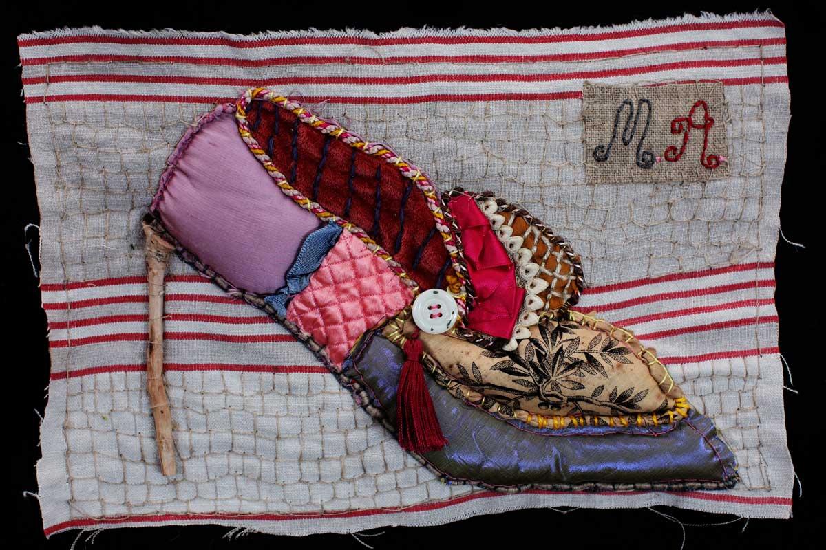 Foto: Workshop von Isabelle Cellier: Der Schuh von Marie-Antoinette