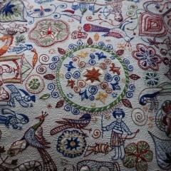 Kantha-Stickerei_Detail