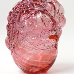 Molekül, 2014, Glas, Draht / glass, wire, 18,5 x 15 x 14 cm