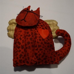 Marianne Jeske - Schutzengel-Katze