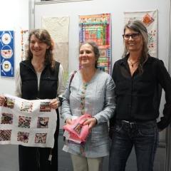 v.l.n.r.: Hanni Schaeffer, Pascale Goldenberg, Beate Axmann