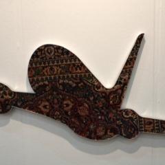 Alex Flemming - AF 79-Serie Flying Carpets, Teppich auf Holz, 87x216cm, 2006s 2