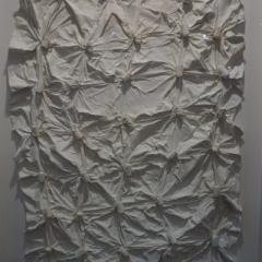 Herbert-Zangs - OT, Knüpfung verschweißt 1953, 155 x 97 x 5 cm