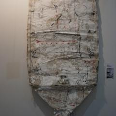 Herbert Zangs - Objekt 90er Jahre, 204x104x7 cm