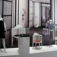 Modesalon Flöge (Foto: Birgit Ströbel, 2018, Museum Leopold, Wien)