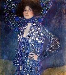 Gustav Klimt: Porträt von Emilie Flöge (Foto: http://artofeurope.com/klimt)
