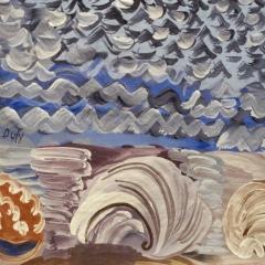 Dufy - Muscheln am Meeresufer