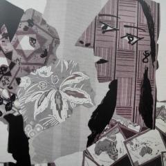 Picasso - Frauen bei ihrer Toilette in schwarz-weiß
