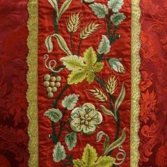 Messgewand Heilige Caecilia - Detail