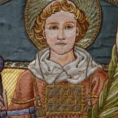 Messgewand Heiliger Laurentius - Detail