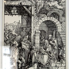 Holzschnitt von Albrecht Dürer
