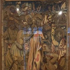 Palais Episcopal Straßburg Die Gefangennahme Christi, 96x76 cm, Wolle, Seide, Metallfäden, 1599