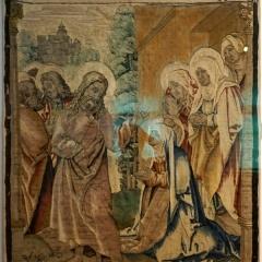 Abschied Christi von seiner Mutter, Wolle, Seide, Gengenbach