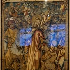 Gefangennahme Christi, Wolle, Seide, Metallfäden, Gengenbach