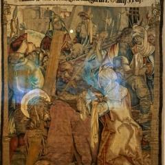 Die Kreuztragung, Wolle, Seide, Gengenbach