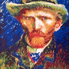 Vincent van Gogh, von vorn