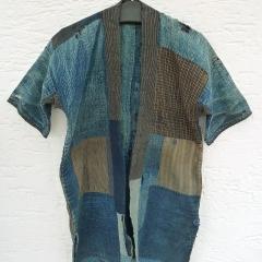 Mein BORO-Mantel, angeblich 200 Jahre alt, zerschlissen und vielfach geflickt.