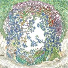 Blaubeerwald, 2013, Tusche und Aquarell auf Papier / ink and watercolor on paper, 30 x 24 cm