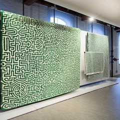 Exhibition: Switch   Dutch Design on the Move Title: 'Labyrinth' Designer: Studio Job Year: 2007- 2008 Collection TextielMuseum Photo: Josefina Eikenaar/TextielMuseum