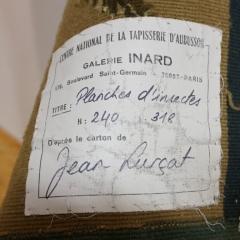 Etikett der Weberei