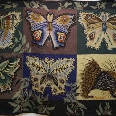 Schmetterlinge und Stachelschwein