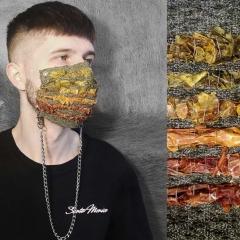 Indrė Spitrytė, Tomatex face mask II, weaving with dry tomato peels and threads (Foto: I. Spitrytė)