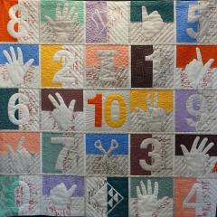 Esther Muths - Dix petites mains autour des chiffres