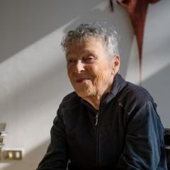 Marion Baruch in ihrem Haus in Gallarate, Italien, Foto: Marc Latzel