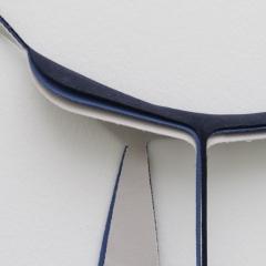 Marion Baruch, Ultramobile 2, 2018 (Detail) Wolle, 260 x 180 cm, Courtesy MAMCO – Musée d'Art Moderne et Contemporain de Genève, Foto: Marc Latzel