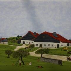 Martine Apaolaza - La cueillette des cerises