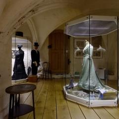 Modemuseum Schloss Meyenburg - Innenansicht, Foto: Kienzle