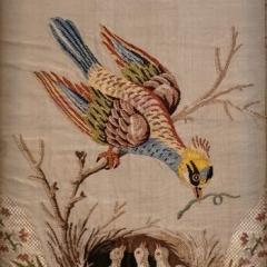Fragment eines Behangs für das Schlafzimmer des Grafen der Provence im Schloss Versailles, 1787