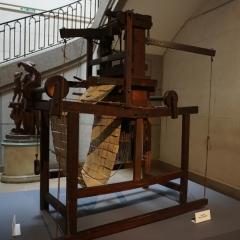Jacquard-Webstuhl im Musée des Tissus