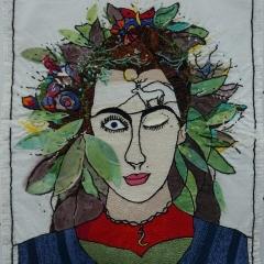 Garden on my head - Carmen Hülsemann und Shukria