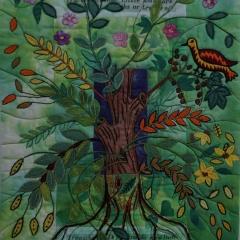 The Garden in an Apple Tree - Eva Wöhrl und Nasrin