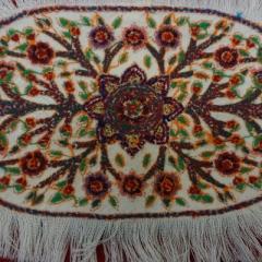 Pateh-Stickerei - von hinten