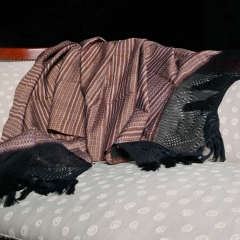 Rebozo Karamel (seltene Farbgebung; 100% Baumwolle; ca. 200 x 65 cm) (Foto: Jimena Prieto)