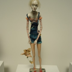 Natasha von Braun: Nicole und Fred, 2014, Kunststoff, diverse Materialien