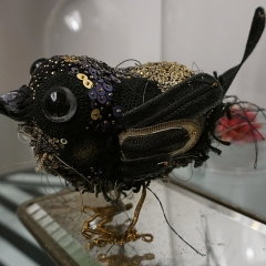Vogelbrosche