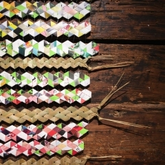 Monika Künti: Eine Erzählung über Bänder und Farben (Ausschnitt)