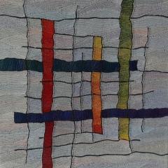 """""""Lose Bindung"""" von Annette Wiegand aus der Ausstellung StrickRausch"""