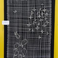 """Klöppelarbeit """"Feldblume"""" von Gabriele Grohmann"""