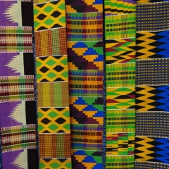 afrikanische Webstreifen