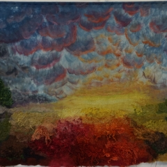 Adrian Salome - Heide vor dem Sonnenaufgang