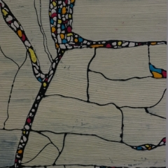 SAQA - Amelia Leigh - The Parcelled Land