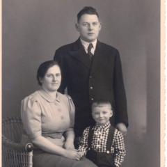 Willi mit Eltern