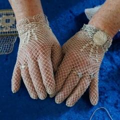 Hedwig Schnepf - Filet-Handschuhe