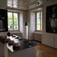 maya burgdorfer und schulklasse - mein kleid - mein gesicht,Foto, Christine Läubli